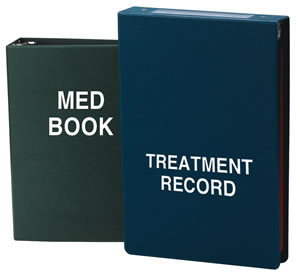 Treatment Book Side Open, 3�